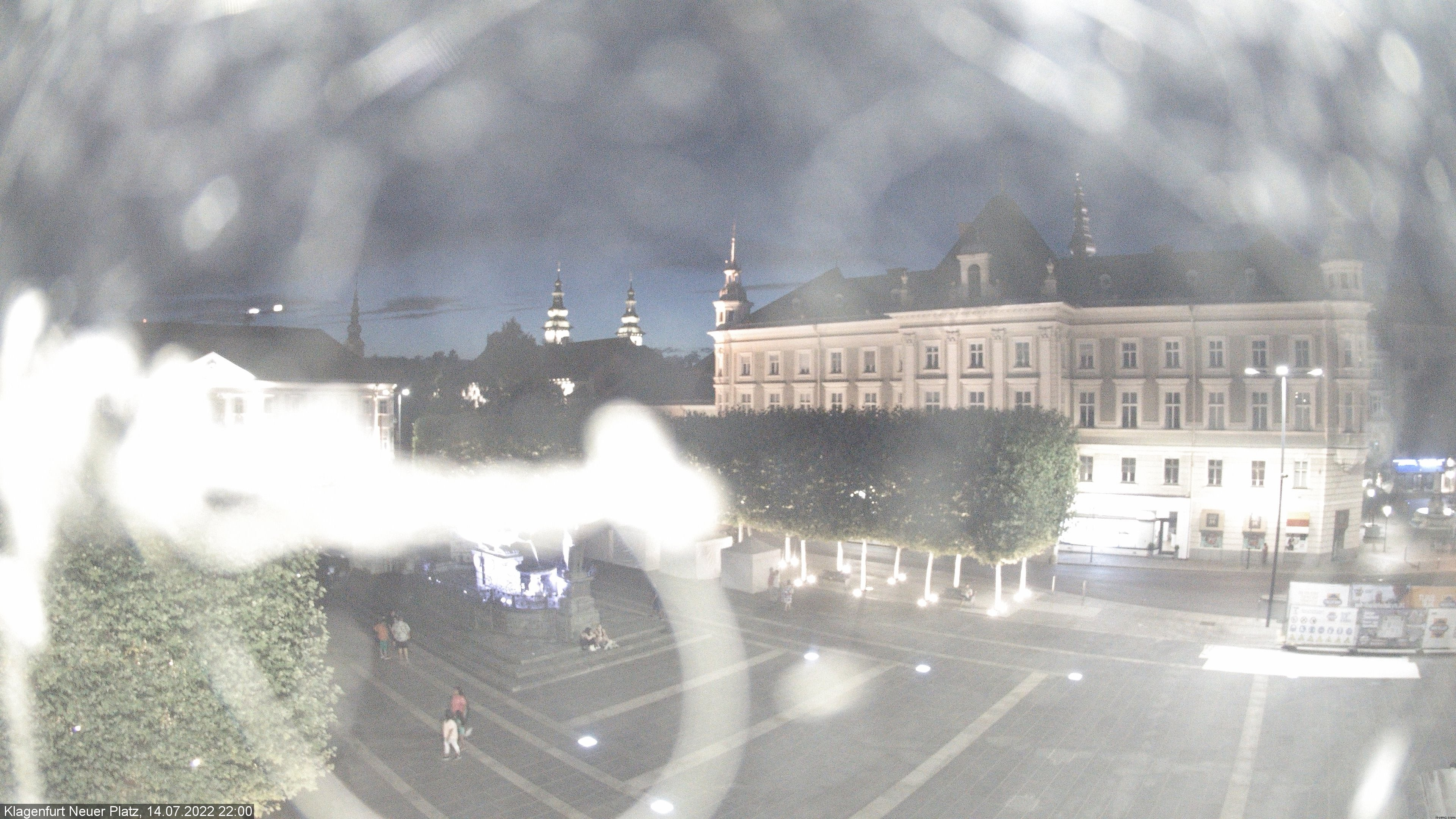 WEBkamera Klagenfurt - Neuen Platz