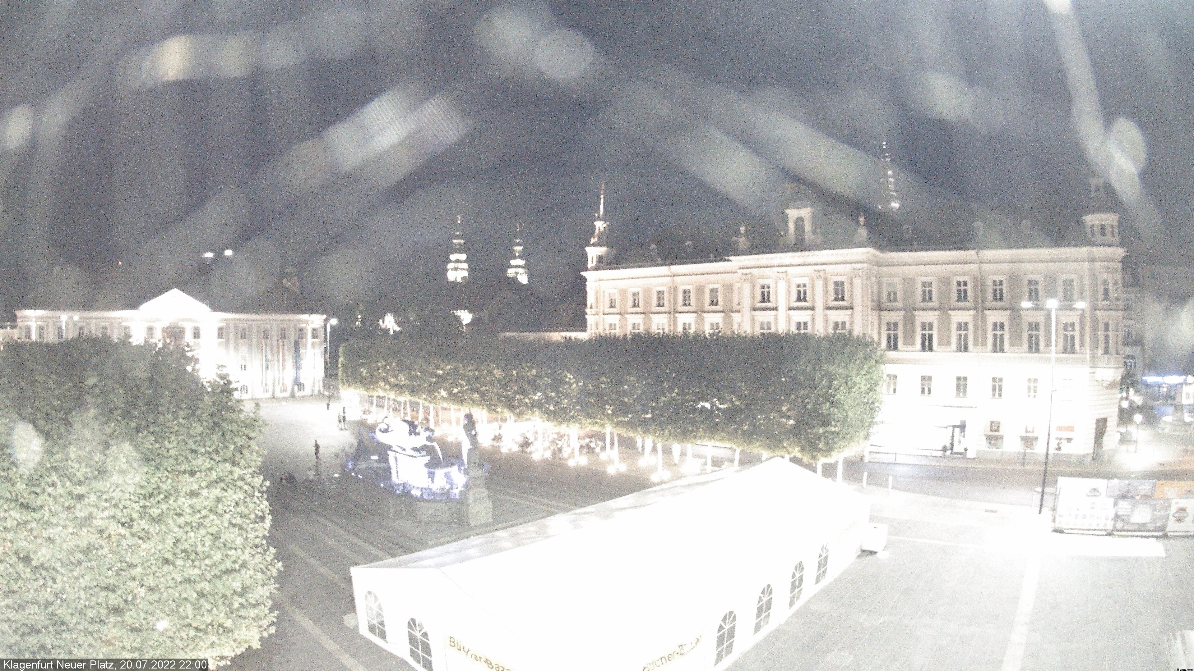 Klagenfurt Webcam Weihnachtsmarkt